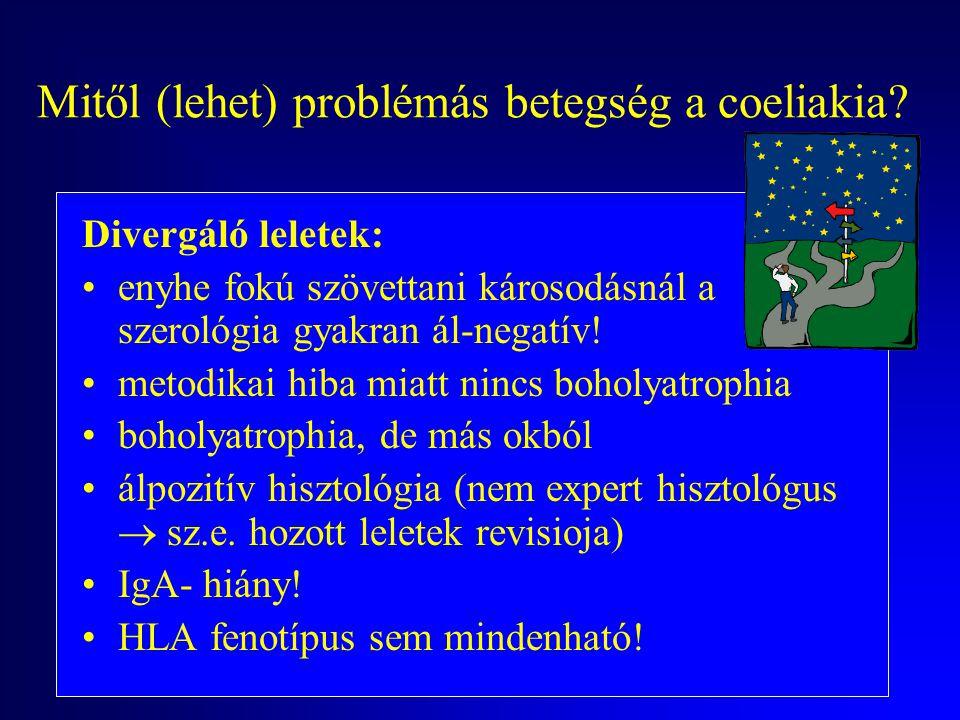 Mitől (lehet) problémás betegség a coeliakia