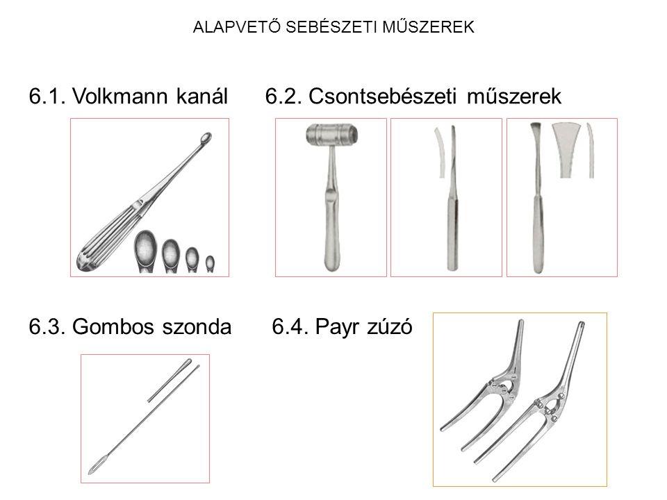 ALAPVETŐ SEBÉSZETI MŰSZEREK