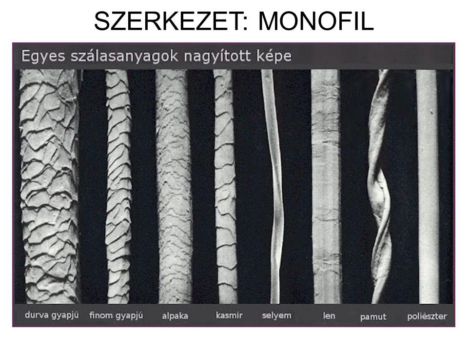 SZERKEZET: MONOFIL