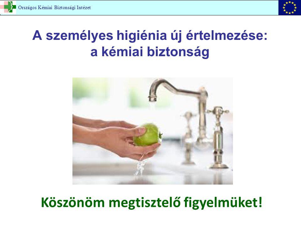 A személyes higiénia új értelmezése: a kémiai biztonság