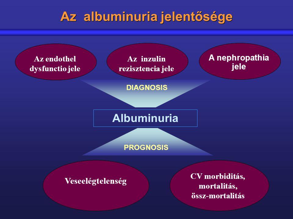 Az albuminuria jelentősége