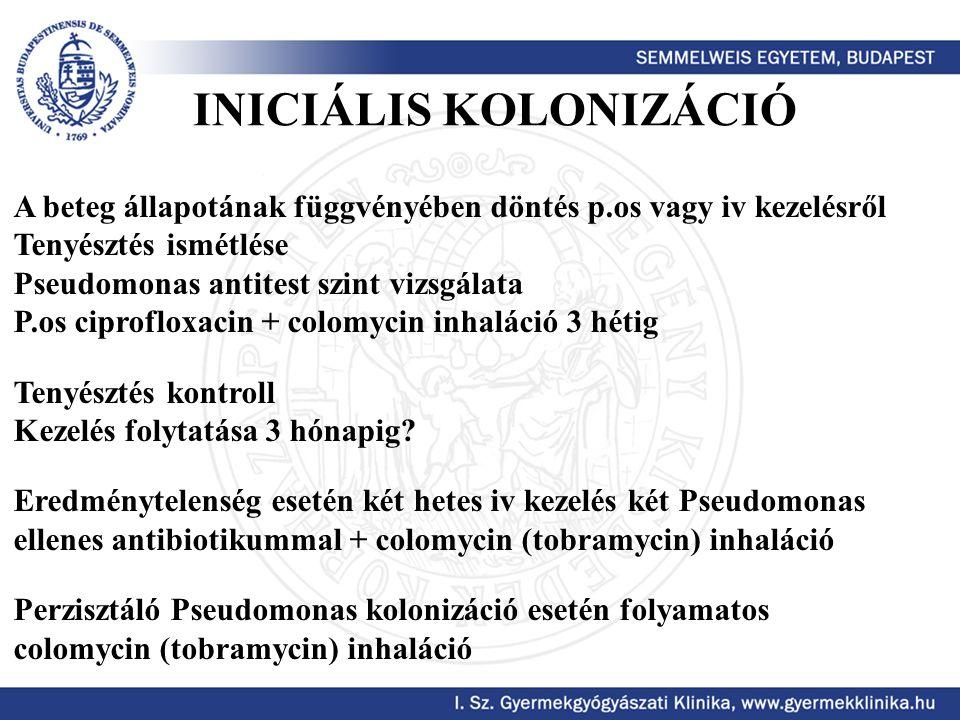 INICIÁLIS KOLONIZÁCIÓ