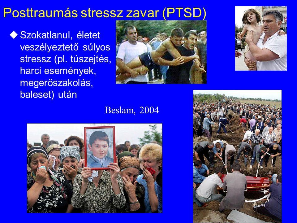 Posttraumás stressz zavar (PTSD)
