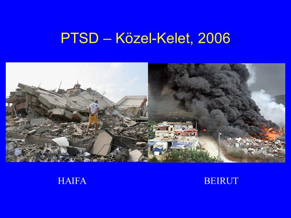 PTSD – Közel-Kelet, 2006 HAIFA BEIRUT
