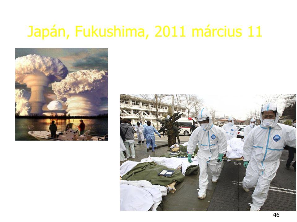 Japán, Fukushima, 2011 március 11