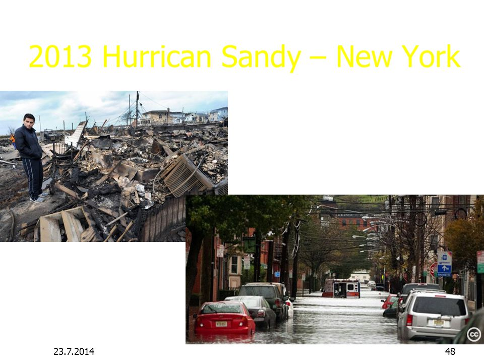 2013 Hurrican Sandy – New York