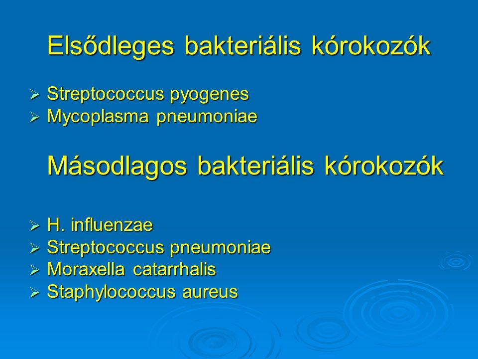 Elsődleges bakteriális kórokozók