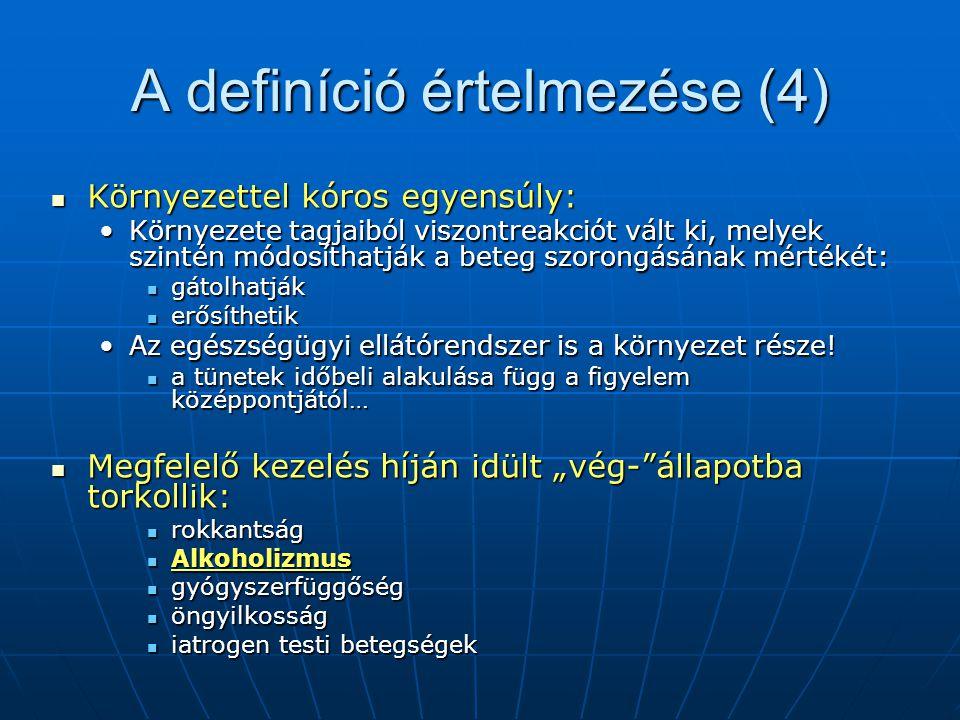 A definíció értelmezése (4)
