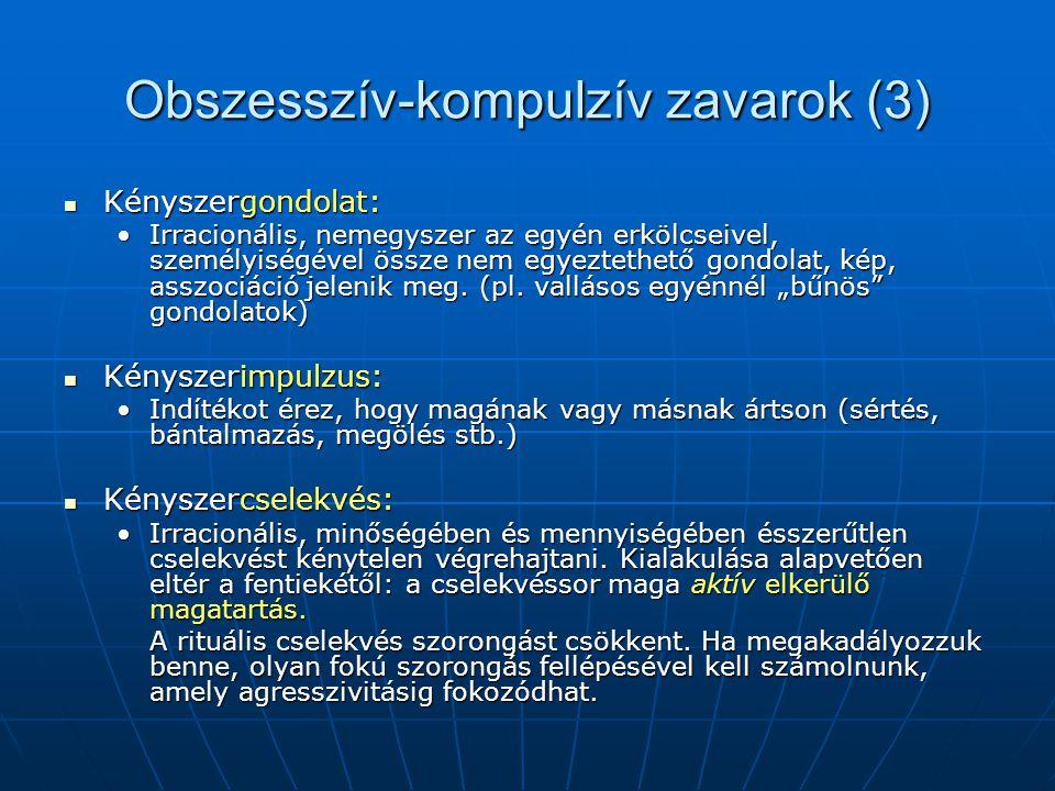 Obszesszív-kompulzív zavarok (3)