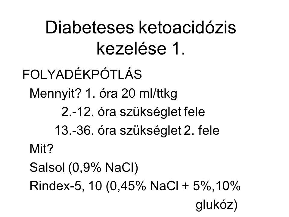Diabeteses ketoacidózis kezelése 1.