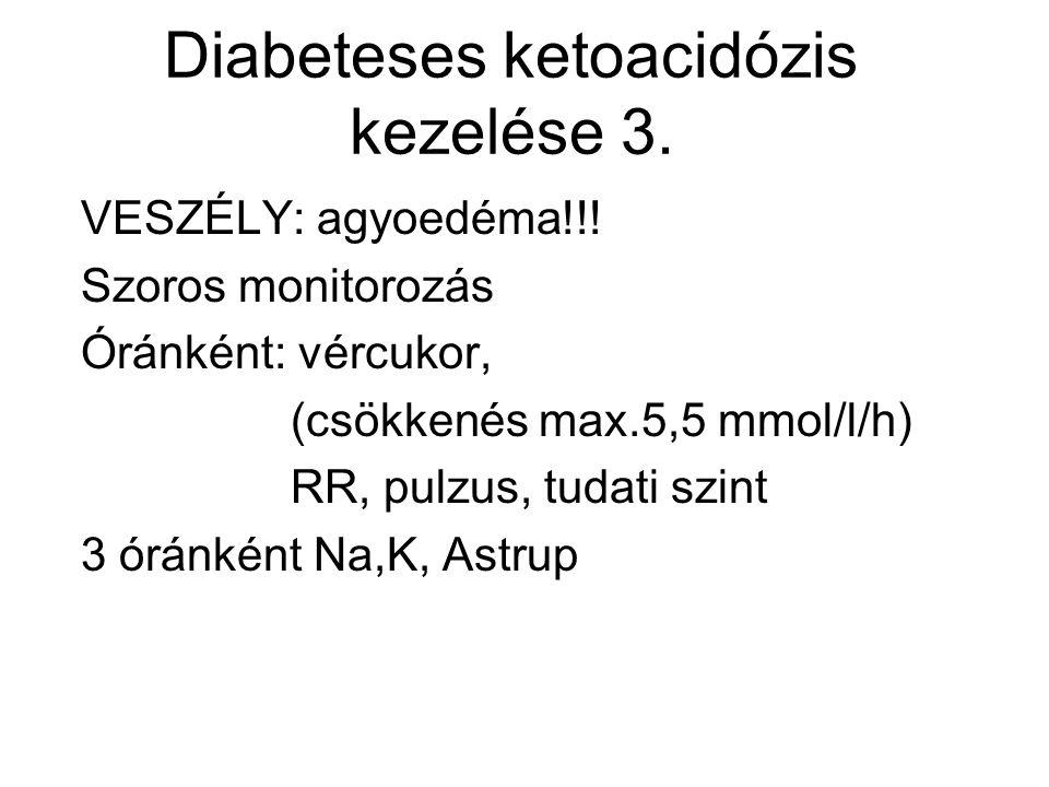 Diabeteses ketoacidózis kezelése 3.