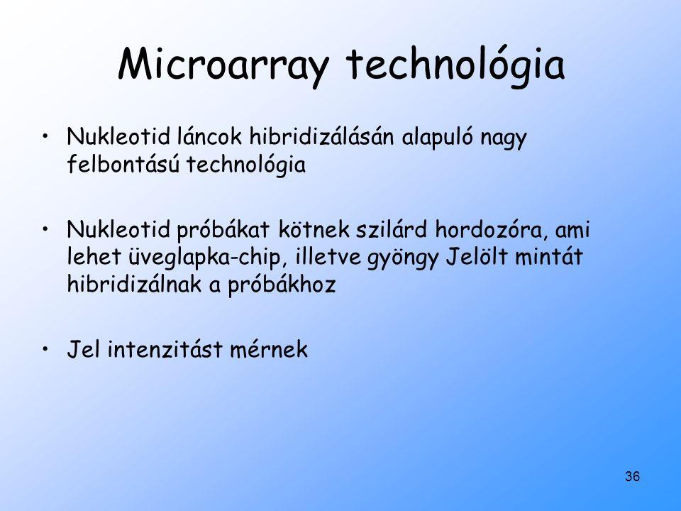 Microarray technológia