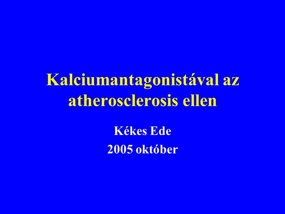 Kalciumantagonistával az atherosclerosis ellen