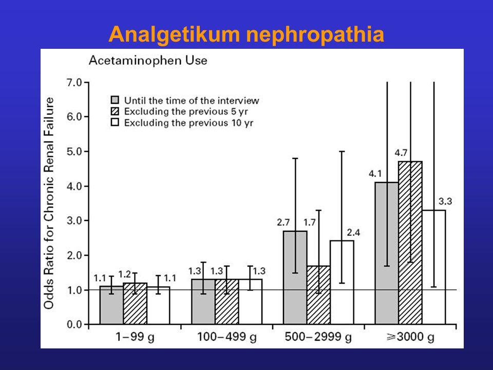Analgetikum nephropathia
