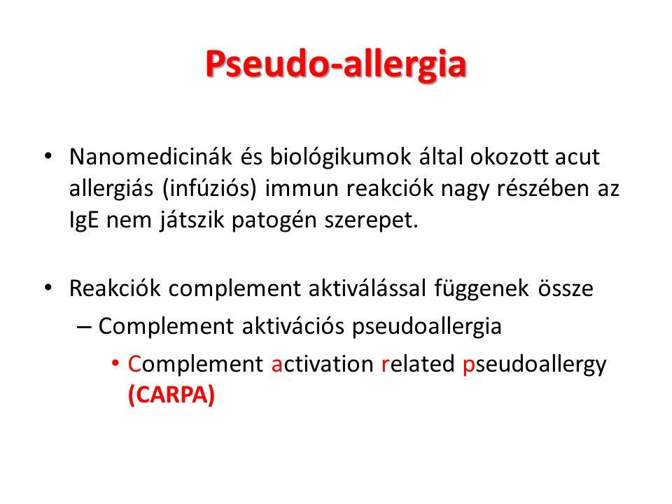 Pseudo-allergia