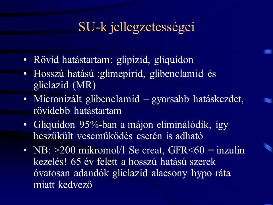 SU-k jellegzetességei