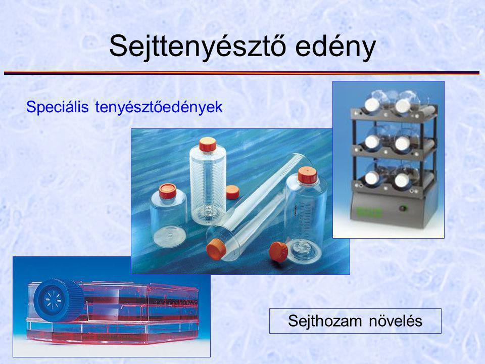 Sejttenyésztő edény Speciális tenyésztőedények Sejthozam növelés