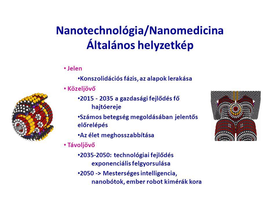 Nanotechnológia/Nanomedicina Általános helyzetkép