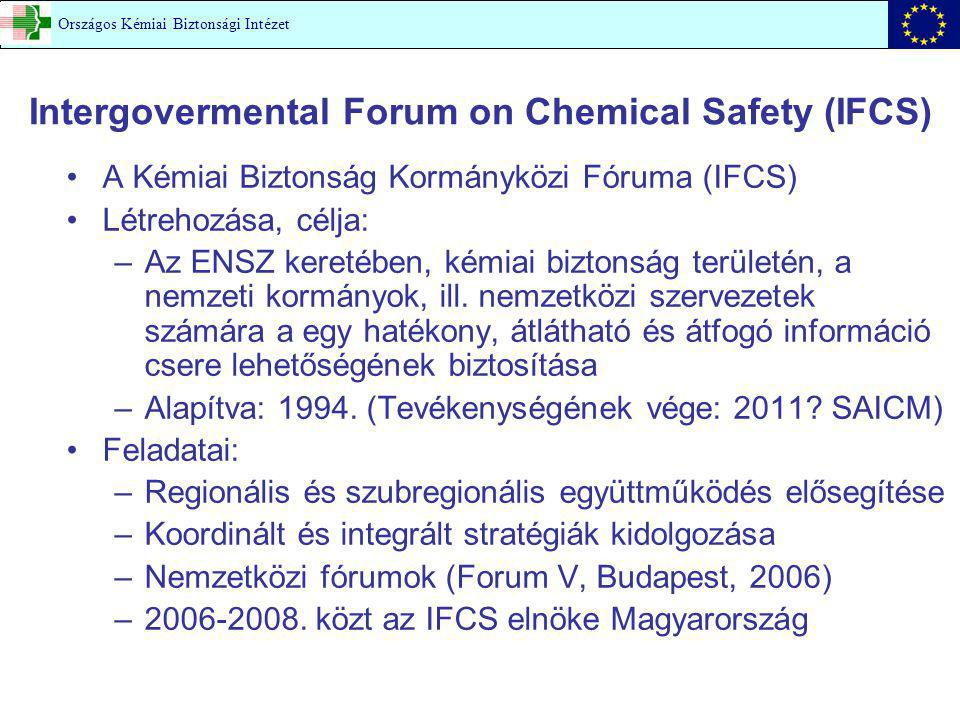 Intergovermental Forum on Chemical Safety (IFCS)