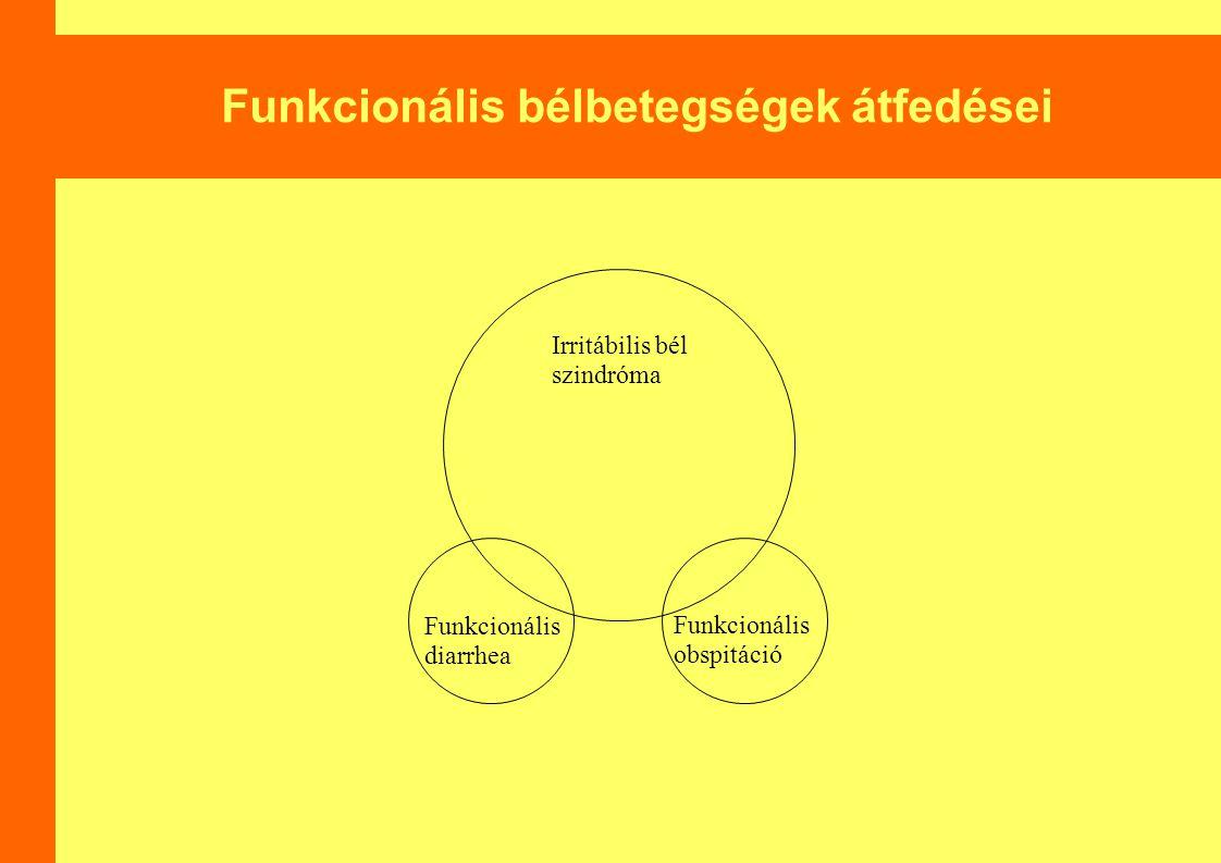 Funkcionális bélbetegségek átfedései
