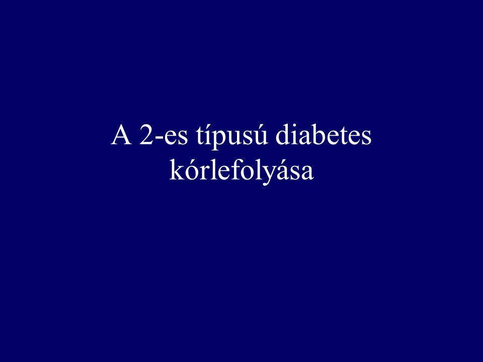 A 2-es típusú diabetes kórlefolyása