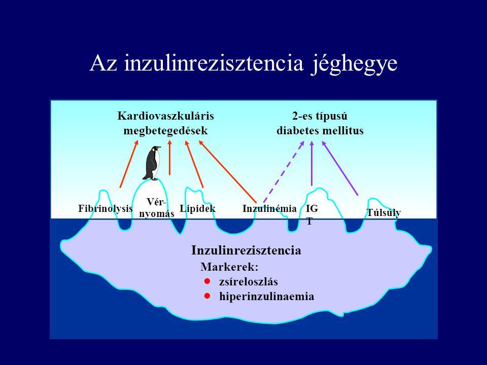 Az inzulinrezisztencia jéghegye