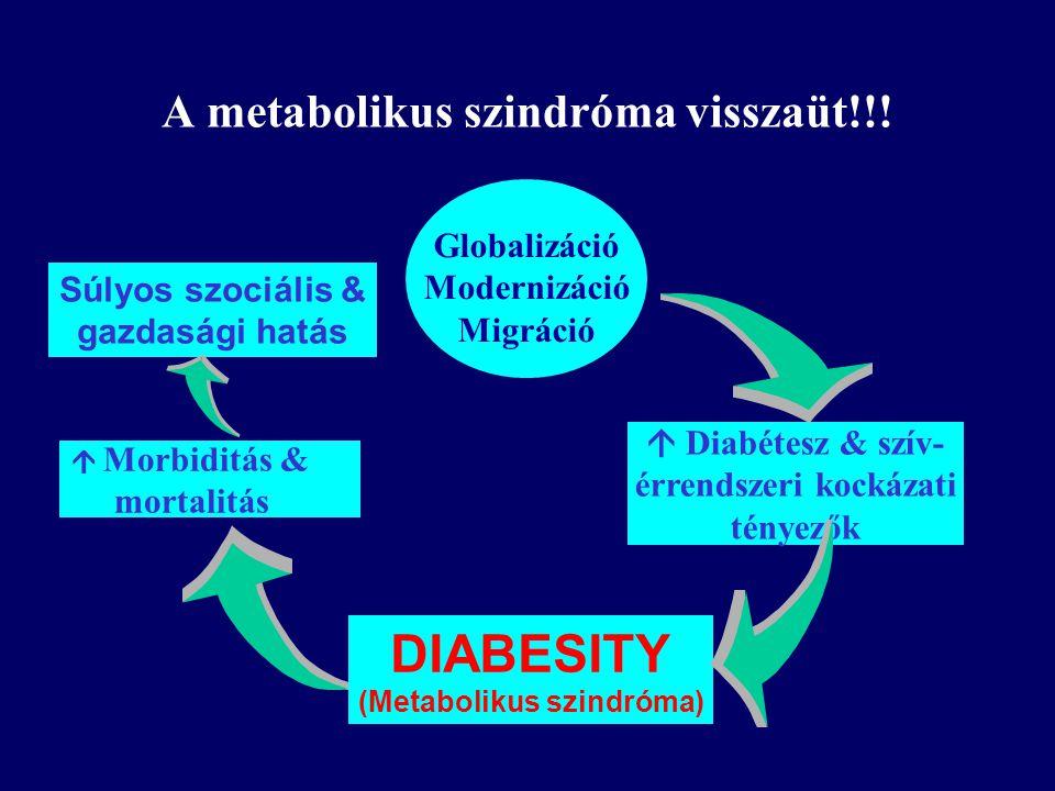A metabolikus szindróma visszaüt!!!