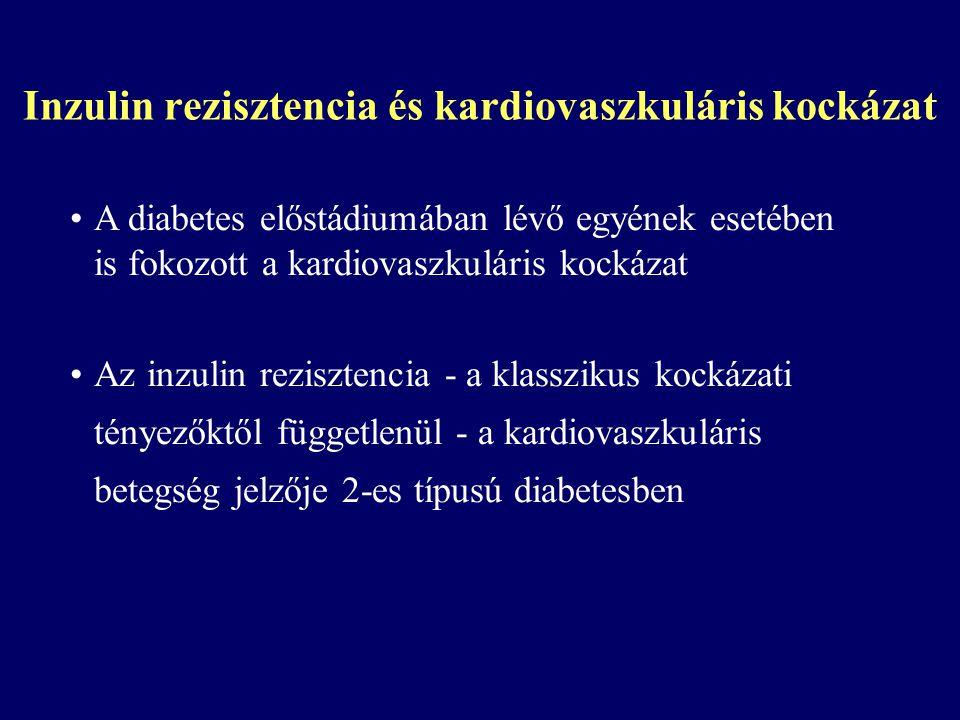 Inzulin rezisztencia és kardiovaszkuláris kockázat