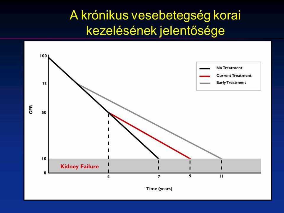 A krónikus vesebetegség korai kezelésének jelentősége
