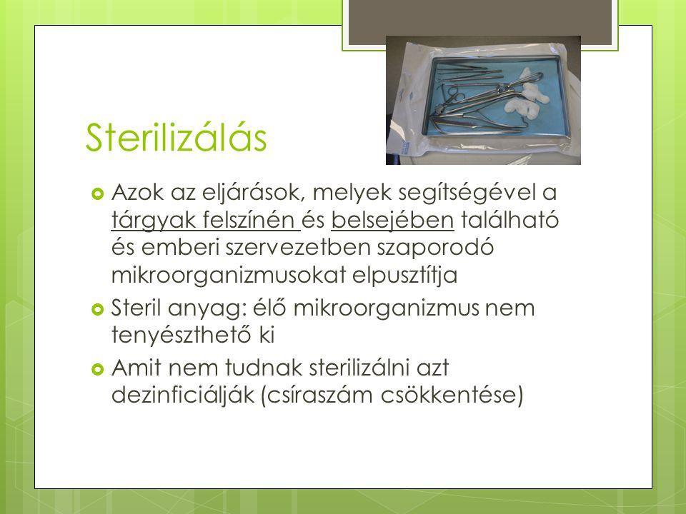 Sterilizálás