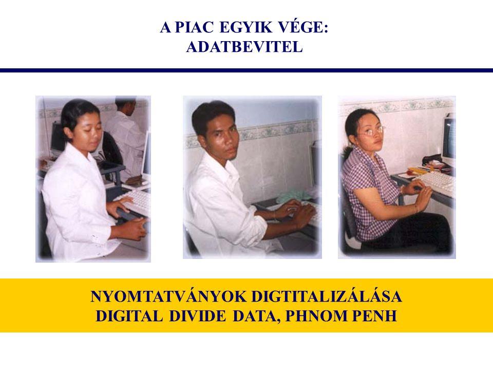 NYOMTATVÁNYOK DIGTITALIZÁLÁSA DIGITAL DIVIDE DATA, PHNOM PENH