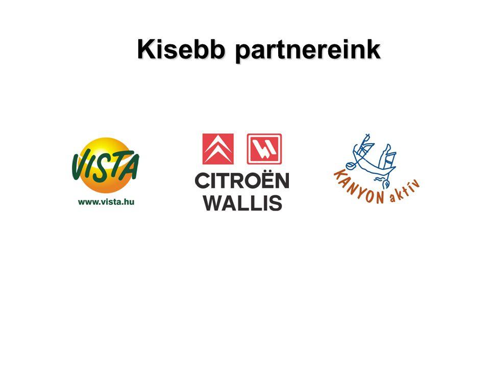Kisebb partnereink