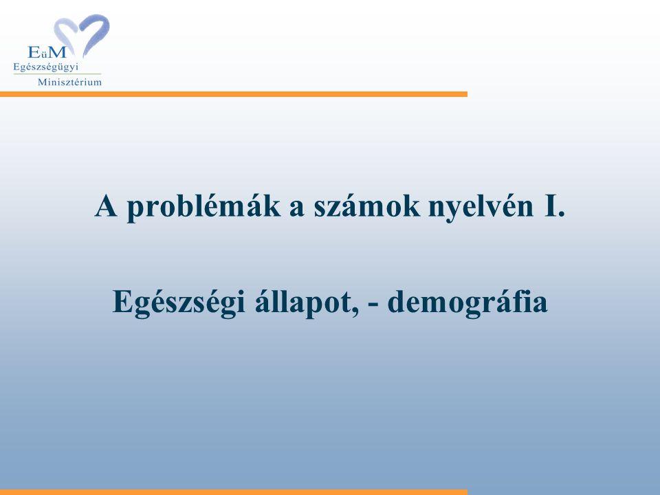 A problémák a számok nyelvén I.