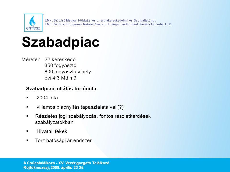 EMFESZ Első Magyar Földgáz- és Energiakereskedelmi és Szolgáltató Kft
