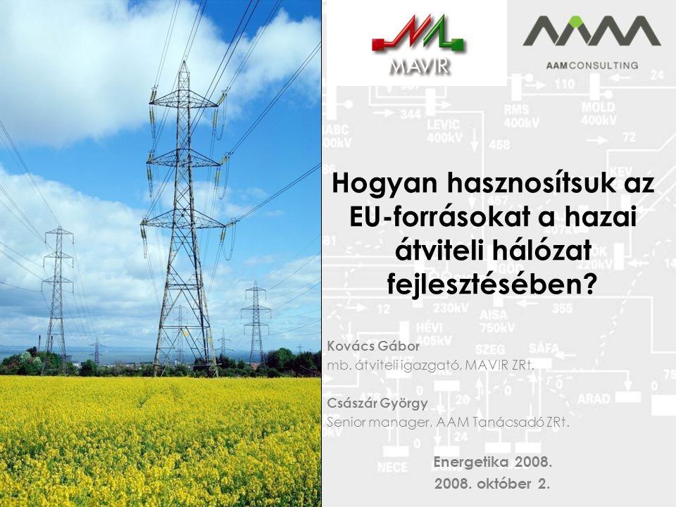 Hogyan hasznosítsuk az EU-forrásokat a hazai átviteli hálózat fejlesztésében