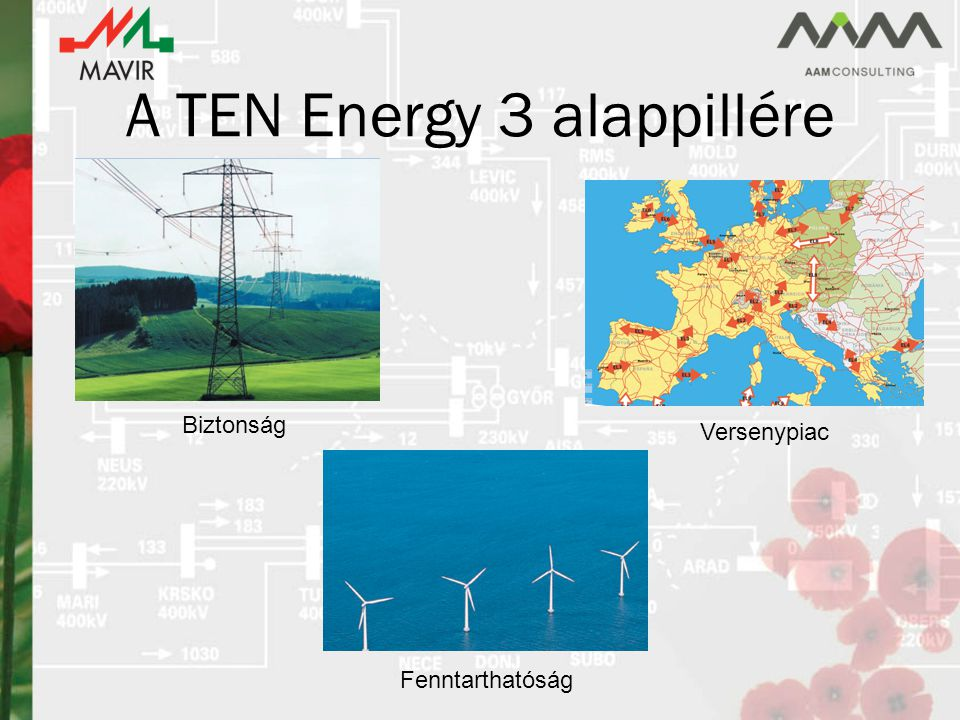 A TEN Energy 3 alappillére