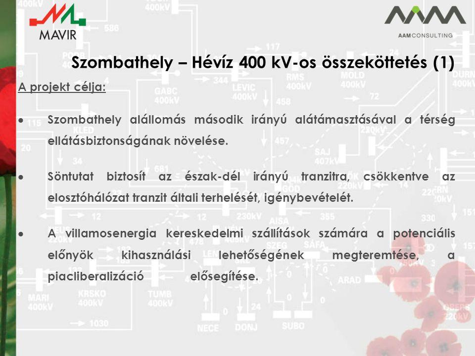 Szombathely – Hévíz 400 kV-os összeköttetés (1)
