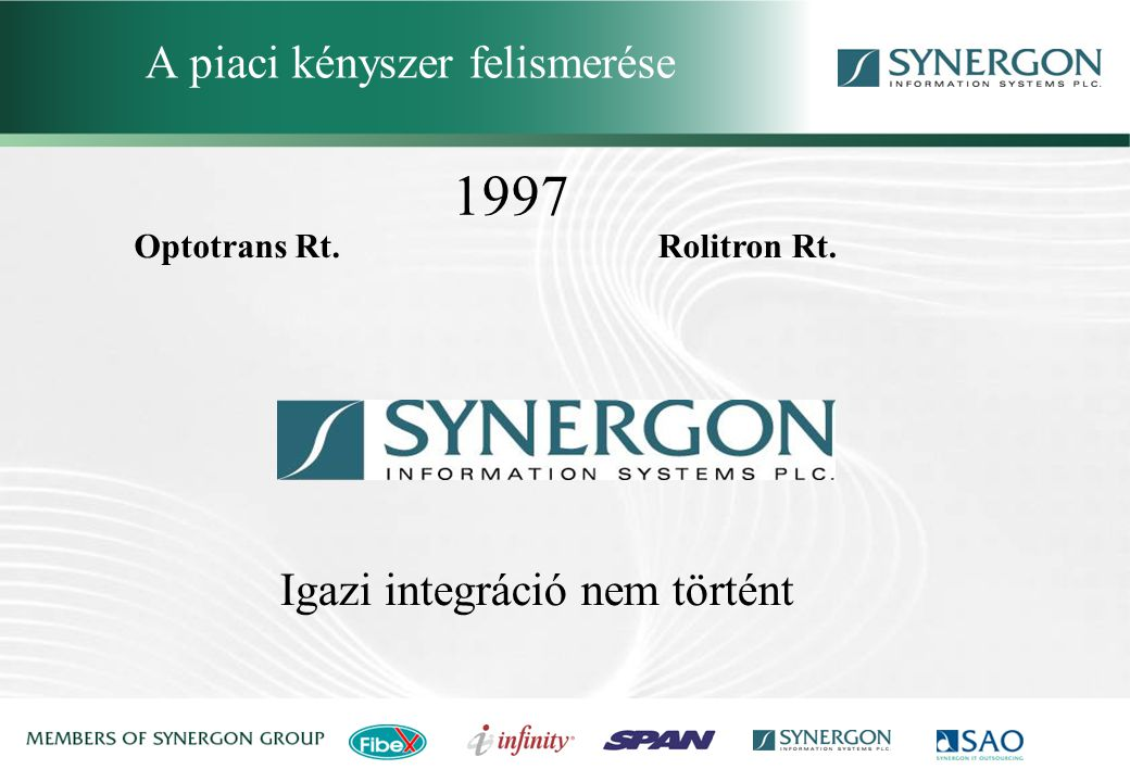 Synergon Group, Synergon Information Systems Plc.