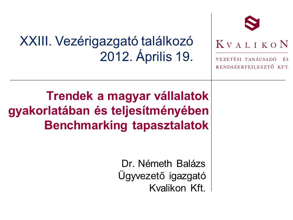 Dr. Németh Balázs Ügyvezető igazgató Kvalikon Kft.