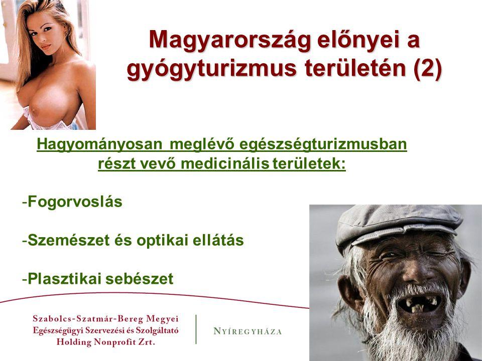 Magyarország előnyei a gyógyturizmus területén (2)