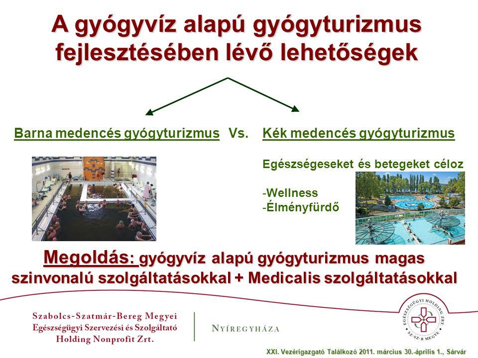 A gyógyvíz alapú gyógyturizmus fejlesztésében lévő lehetőségek