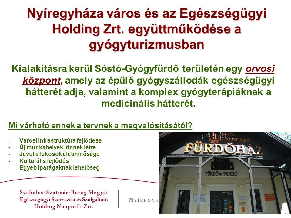 Nyíregyháza város és az Egészségügyi Holding Zrt