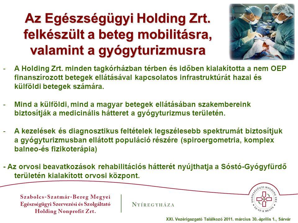 Az Egészségügyi Holding Zrt