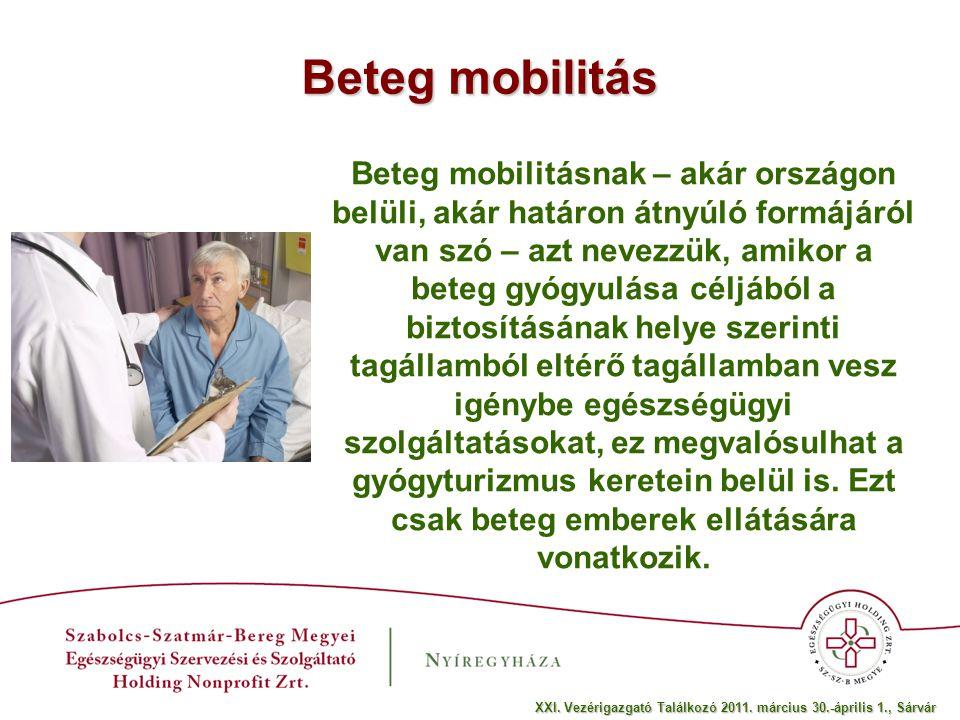 Beteg mobilitás