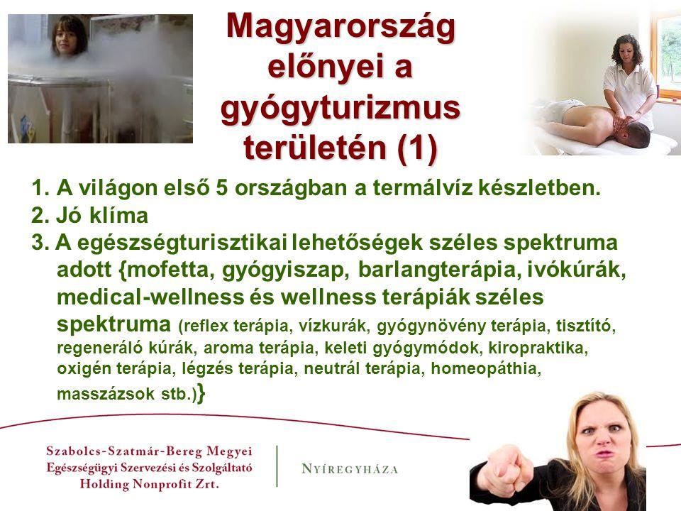 Magyarország előnyei a gyógyturizmus területén (1)