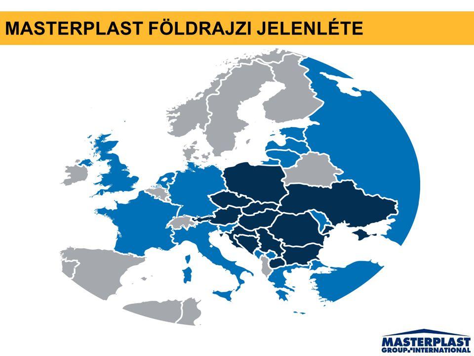 MASTERPLAST FÖLDRAJZI JELENLÉTE