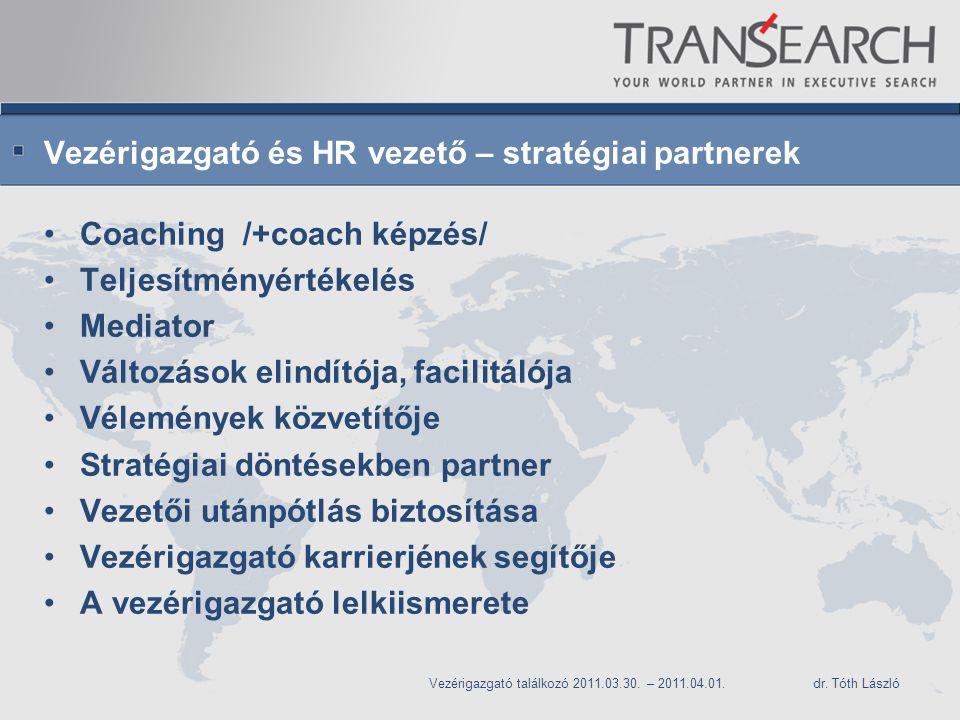 Vezérigazgató és HR vezető – stratégiai partnerek
