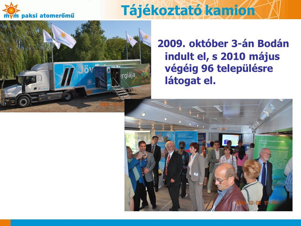 Tájékoztató kamion 2009.