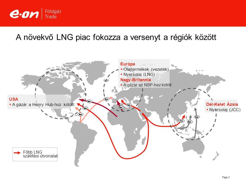 A növekvő LNG piac fokozza a versenyt a régiók között