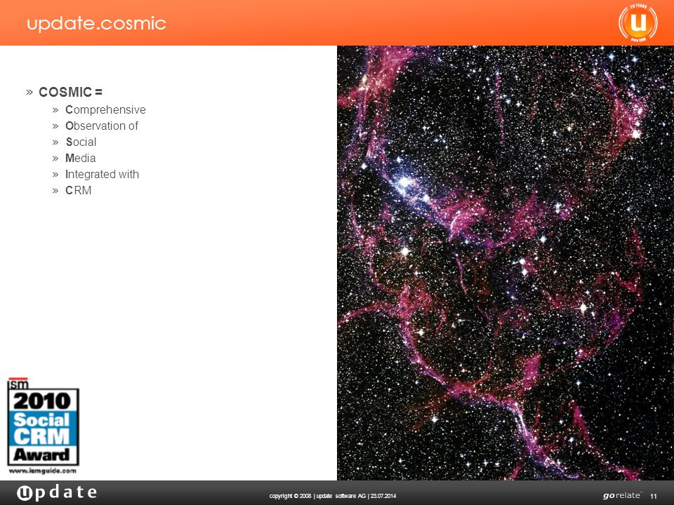 update.cosmic COSMIC = Comprehensive Observation of Social Media